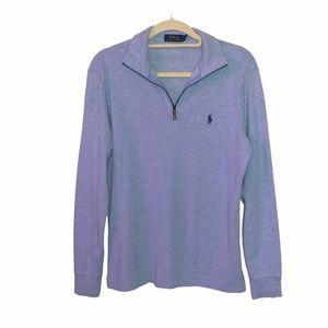 NWOT Polo Ralph Lauren 1/4 Zip Sweater Small